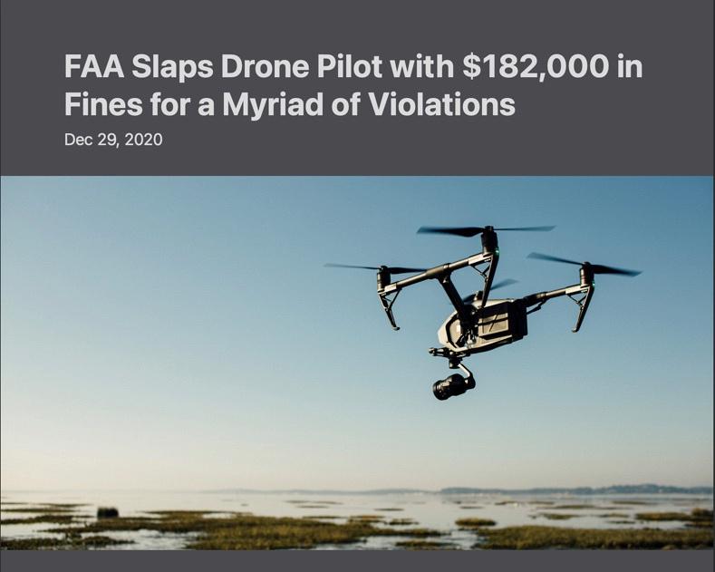 drone fines